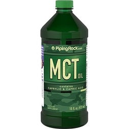 Piping Rock MCT Oil 16-ounce Dietary Supplement