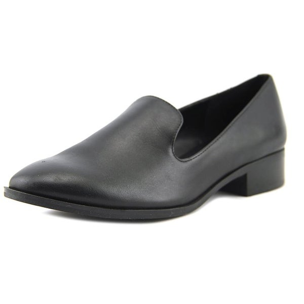 Marc Fisher Traycee 2 Women Round Toe Leather Black Loafer