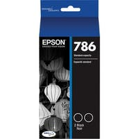 Epson 786 Black Ink Cartridge w/ 900 Pages Yield for WorkForce Pro Printers