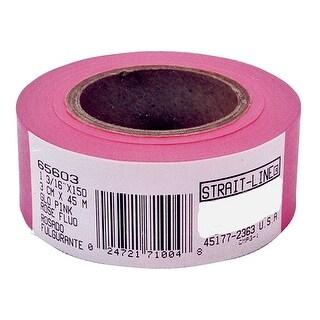 Irwin 65603 Strait-line Flagging Tape, 150', Glo Pink