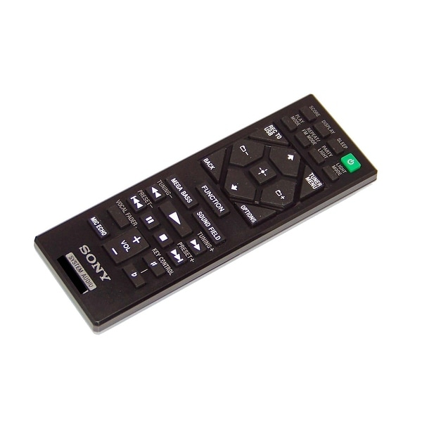 NEW OEM Sony Remote Control Originally Shipped With HCDSHAKE10, HCD-SHAKE10