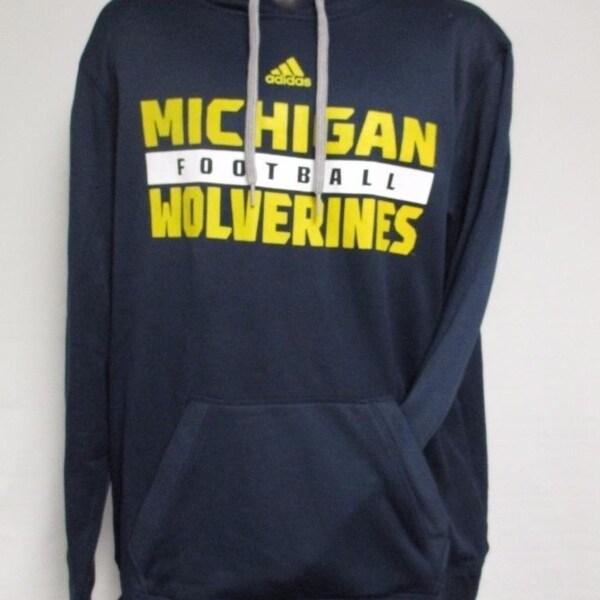 official photos f61d3 afa02 Shop Michigan Wolverines Football Mens Size M Medium ...