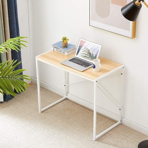 TiramisuBest Modern Computer Office Desks Writing Sturdy Office Table