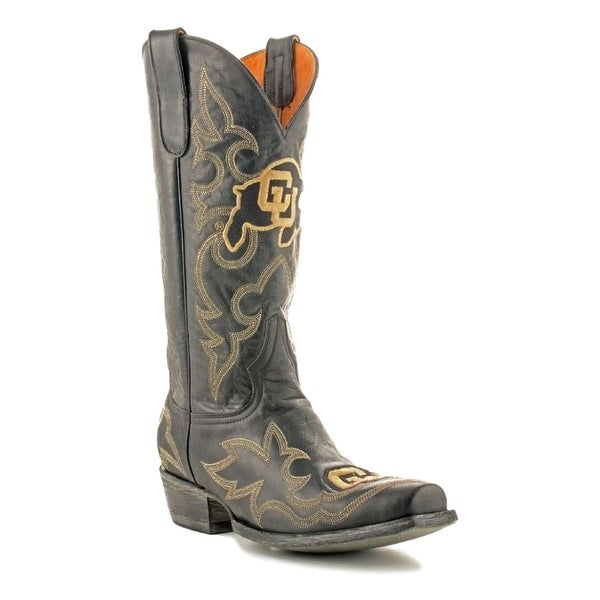 Gameday Boots Mens College Team Colorado Buffs Black