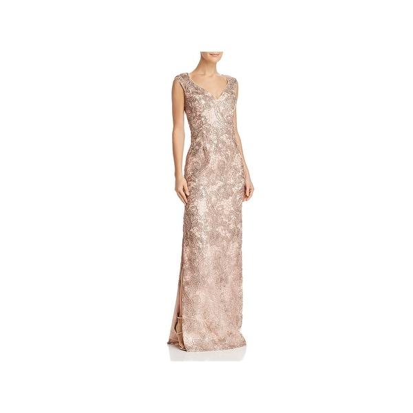 0cd39c0d97784 Aidan Mattox Womens Evening Dress Formal Special Occasion