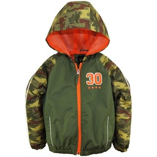 iXtreme Boys Camo Spring Windbreaker Jacket with Mest Lining