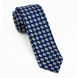 Men's 100-percent Blue Tie