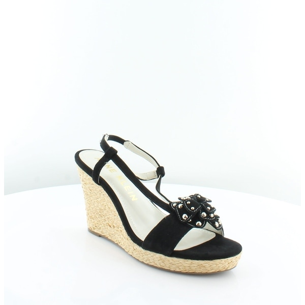 Anne Klein Marigold Women's Sandals Black - 9.5