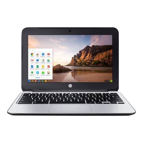 HP Chromebook L8E74UT Laptop Intel Celeron 2GB RAM 16GB SSD Chrome Webcam