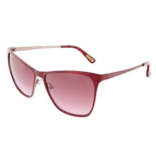 Guess by Marciano GM0713 BUR-52 Burgundy/Rose Cateye sunglasses - 58-15-130