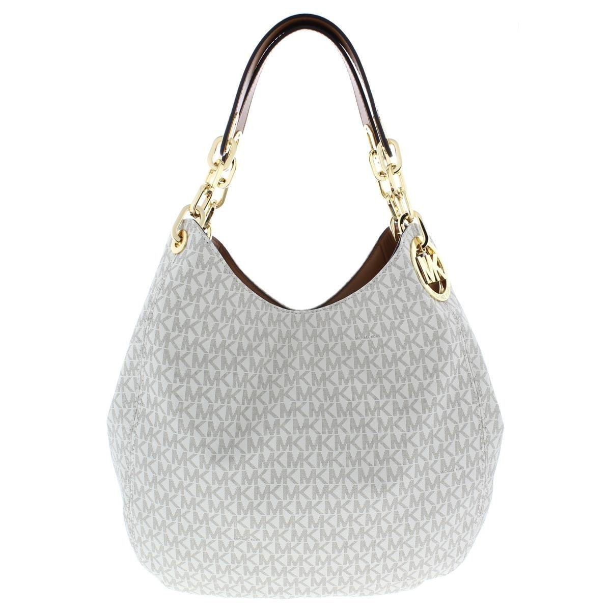 Fulton Shoulder Handbag Faux Leather