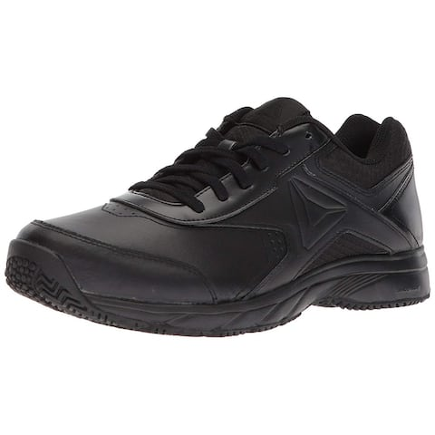 Reebok Womens Work N Cushion 3.0 Wide D Walking Shoe, Adult, Black/Black