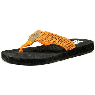 Yellow Box Kathy Women Open Toe Synthetic Thong Sandal