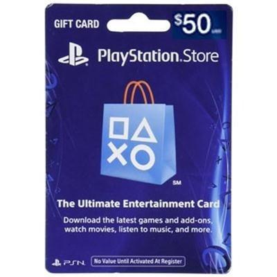 Sony Playstation 3002072 50Dollar Psn Card Live Fy17