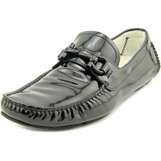Salvatore Ferragamo Parigi Round Toe Patent Leather Loafer