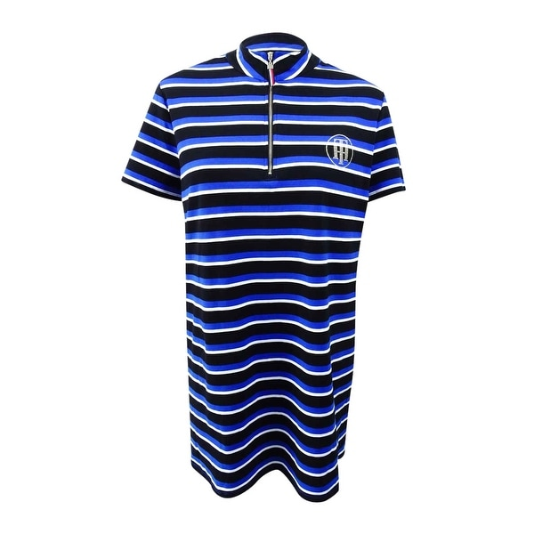 51c2ee75 Shop Tommy Hilfiger Women's Plus Size Striped Pique Polo Dress (3X, Cobalt  Combo) - Cobalt Combo - 3X - Free Shipping On Orders Over $45 - Overstock -  ...