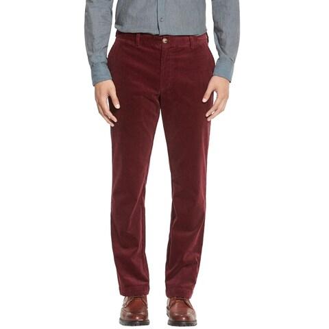 Vineyard Vines Slim Fit Corduroy Pants Crimson Burgundy 34 x 32