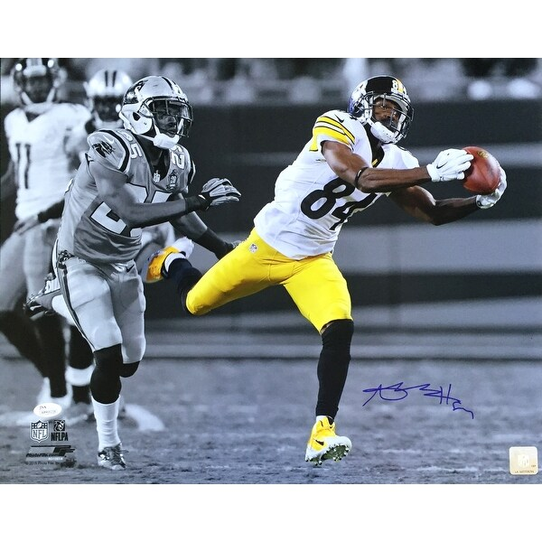 a6d5b9119 Shop Antonio Brown Signed 16x20 Pittsburgh Steelers Spotlight Catch Photo  JSA - Free Shipping Today - Overstock - 16088849