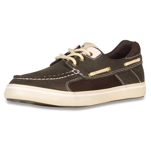 Xtratuf Women's Finatic II Deck Chocolate Shoes w/ Non-Marking Outsole - Size 10