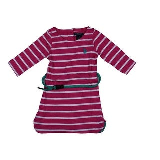 U.S. Polo Assn. Tunic Top Striped Long Sleeves
