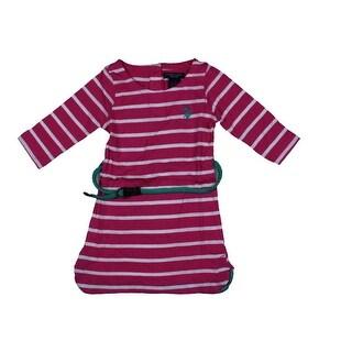 U.S. Polo Assn. Tunic Top Striped Long Sleeves