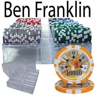 Bry Belly 200 Ct - Custom Breakout - Ben Franklin 14 G - Acrylic Tray