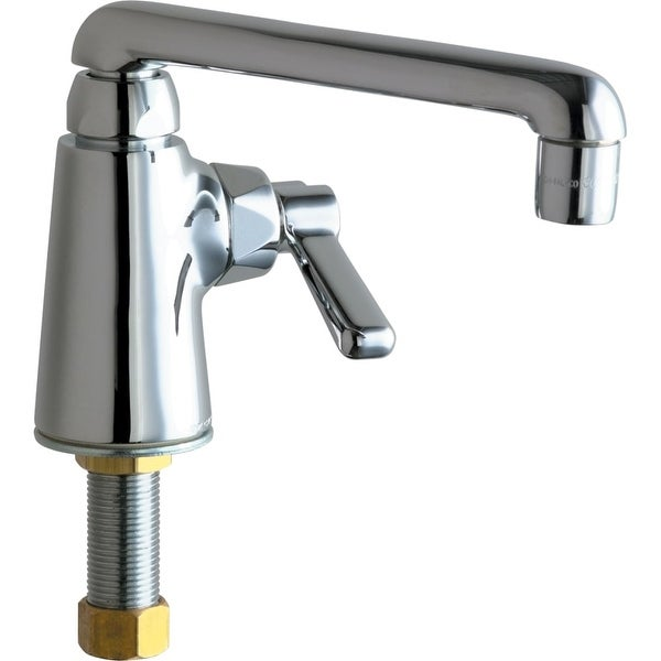 Chicago Faucets 349 Ab Commercial Grade Single Hole Laundry Service Faucet With Lever Handle