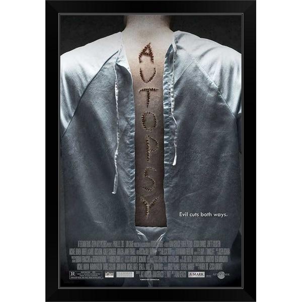 """""""Autopsy - Movie Poster"""" Black Framed Print"""