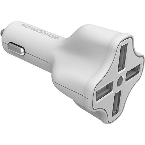 DigiPower DGPC406IW InstaSense 4-Port USB Car Charger