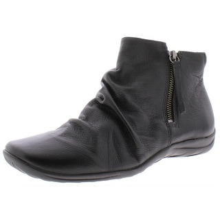 Link to Walking Cradles Womens Abigail Ankle Boots Leather Casual - Black Similar Items in Women's Shoes