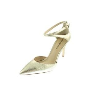 Via Spiga Womens Chera Leather Point-Toe Stilettos - 11 medium (b,m)
