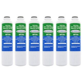 Samsung CF7 Refrigerator Water Filter Replacement by Aqua Fresh (6 Pack)