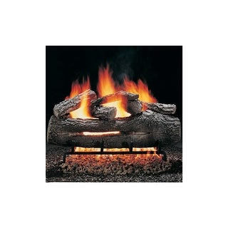 "Hargrove FOS2406AA 24"" Fire Oak RGA 2-72 Approved Vented Gas Logs - Fire Oak - N/A"