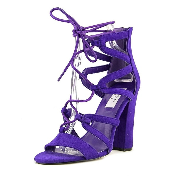 Chelsea & Zoe Elyse Women Purple Sandals