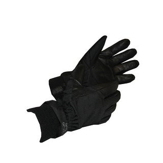 Glacier Glove Alaska Waterproof Insulated Glove Black Medium 775BK-M