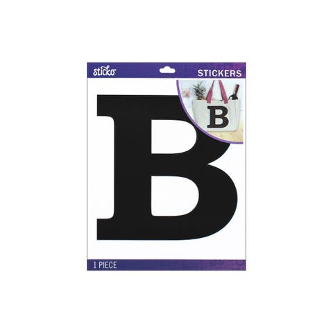 52-90437 ek sticko sticker jumbo basic black monogram b
