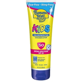 Banana Boat Kid's Tear Free Sunscreen Lotion, SPF 50 8 oz