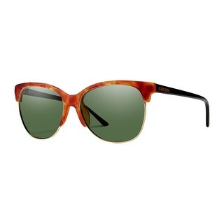 Smith Optics Sunglasses Womens Rebel Matte Tortoise ChromaPop - matte honey tortoise black chromapop gray green - One size