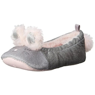 Carters June Novelty Slippers Toddler Faux Fur - L