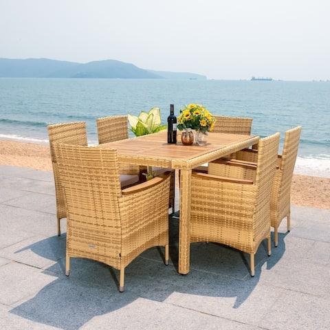 SAFAVIEH Outdoor Ashwin Dining Set