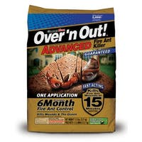 Over'n Out! 100522608 Advanced Fire Ant Killer, 11.5 Lbs