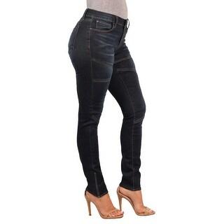 Versace 19.69 Abbigliamento Sportivo SRL Ladies Contemporary Skinny-Stretch Panel Jean (Option: 24)