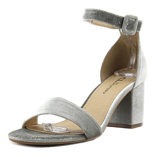 CL By Laundry Jody Women Open Toe Canvas Sandals