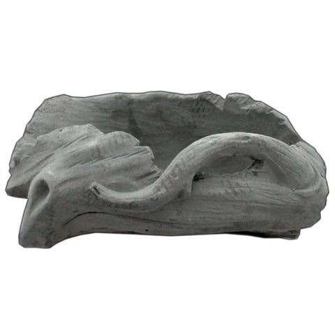 30042834 darice planter cement stump 6 54