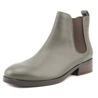Cole Haan Claremont Shootie Pointed Toe Leather Ankle Boot