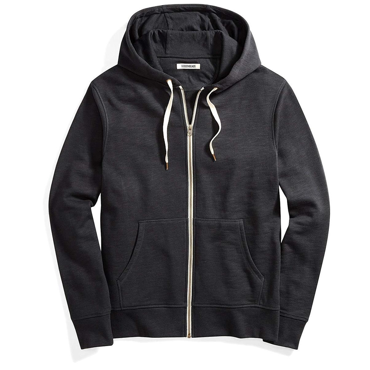 Goodthreads Mens Fullzip Fleece Hoodie Brand