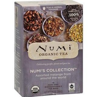 Numi Tea - Collection Assorted Melange Tea ( 6 - 18 BAG)