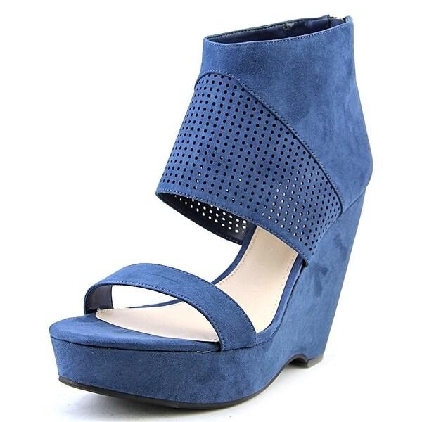 Bar III Womens SIREN Fabric Open Toe Casual Platform Sandals
