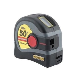 General Tools Ltm1 General Tools 2-In-1 50 Ft Digital Display Laser Tape Measure