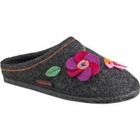 Giesswein Women's Flora House Slipper Charcoal